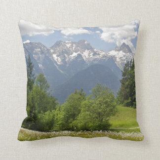 Mountain Landscape Pillow Austria Photo Print Cushions