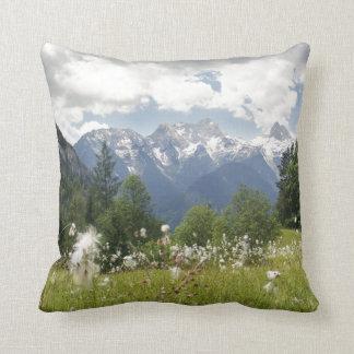Mountain Landscape Pillow Austria Photo Print Throw Cushions