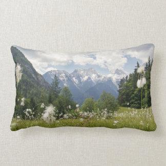 Mountain Landscape Pillow Austria Photo Print Cushion