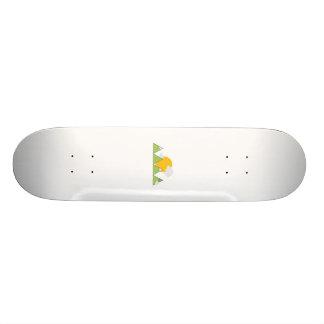 Mountain landscape skate board