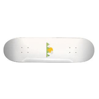 Mountain landscape skateboard