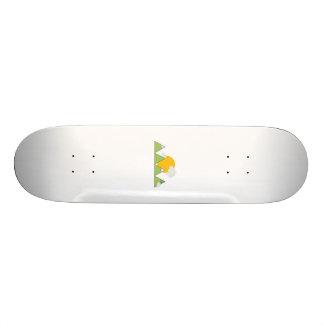 Mountain landscape skateboard deck