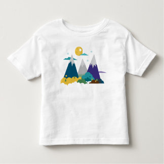 Mountain Landscape Toddler T-Shirt