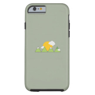 Mountain landscape tough iPhone 6 case