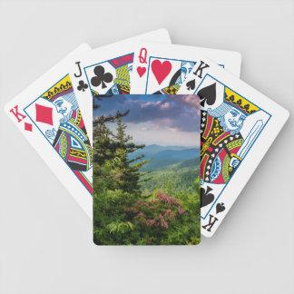 Mountain Laurel at Sunrise Bicycle Playing Cards