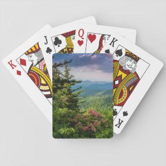 Mountain Laurel at Sunrise Poker Deck