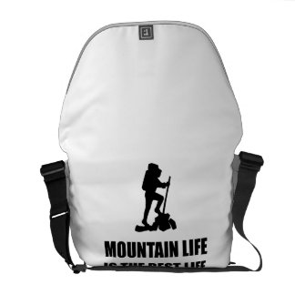Mountain Life Best Life Messenger Bag