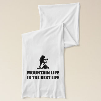 Mountain Life Best Life Scarf