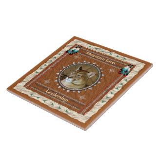 Mountain Lion  -Leadership- Ceramic Tile