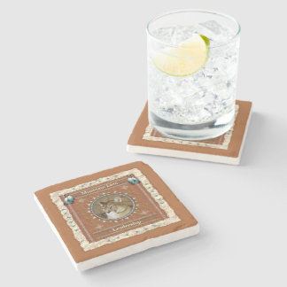 Mountain Lion  -Leadership- Marble Coaster