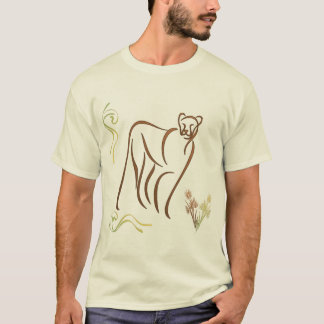 Mountain Lion Sketch T-Shirt