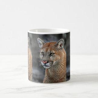 Mountain Lion Snow Fall Mug