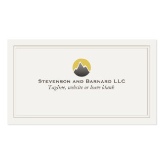 Mountain Logo Business Card