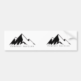 Mountain Logo Sticker Bumper Sticker