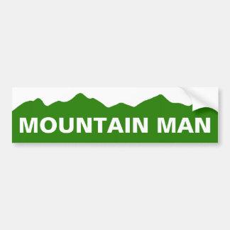 Mountain Man Colorado Bumper Sticker