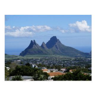 Mountain Mauritius Postcard