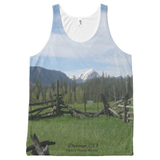 Mountain Meadow All-Over Print Singlet