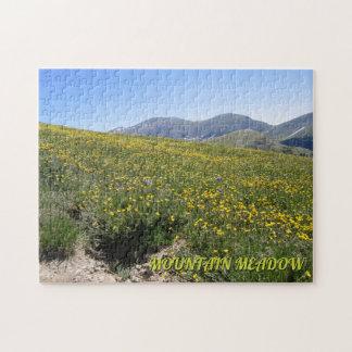 Mountain Meadow Jigsaw Puzzle