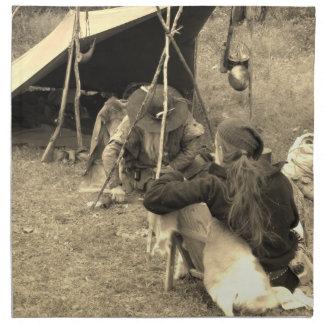 Mountain Men At Camp Napkin