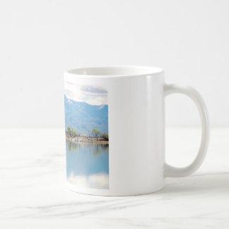 Mountain Mirror Lake Basic White Mug