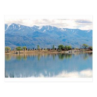 Mountain Mirror Lake Postcard