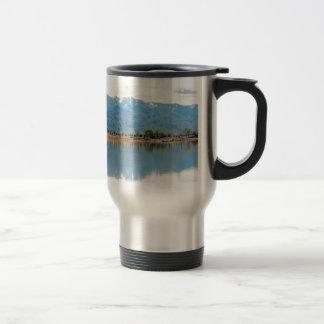Mountain Mirror Lake Stainless Steel Travel Mug
