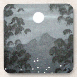 Mountain Moon Beverage Coasters