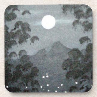 Mountain Moon Beverage Coasters