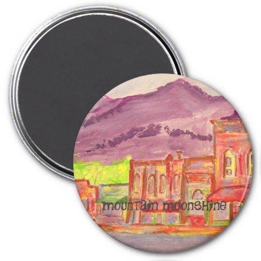 mountain moonshine refrigerator magnet