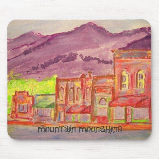 mountain moonshine mouse pad