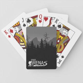 Mountain Mornings Playing Cards