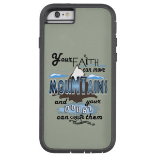 Mountain moving faith I Phone Case