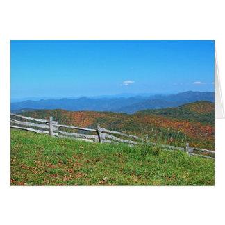 Mountain Notecards Card