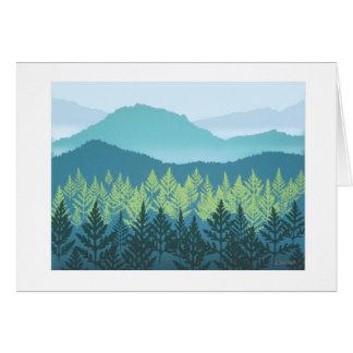 Mountain Nursery note card