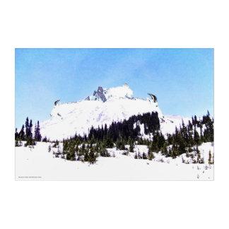 Mountain of Goats Acrylic Print