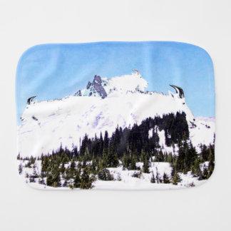 Mountain of Goats Burp Cloth