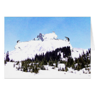 Mountain of Goats Card