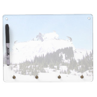 Mountain of Goats Dry Erase Board With Key Ring Holder