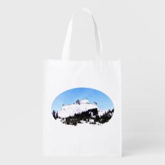 Mountain of Goats Reusable Grocery Bag