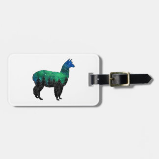 Mountain Paradise Luggage Tag
