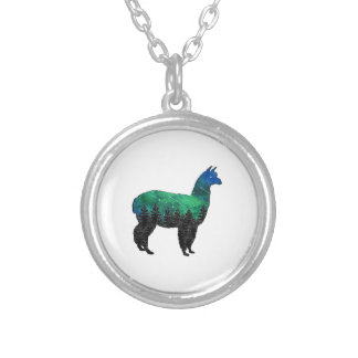 Mountain Paradise Silver Plated Necklace