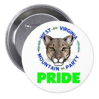 """Mountain Party Pride""  button"