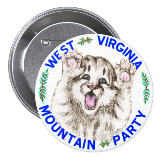 """Mountain Party Spirit Cub"" button"