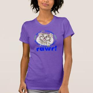 """Mountain Party Spirit Cub RAWR"" women's T-Shirt"