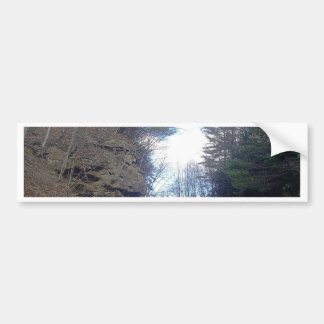 Mountain Pass Bumper Sticker