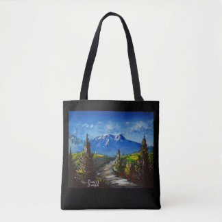 Mountain Path Tote Bag