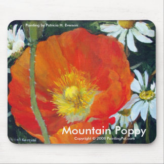 Mountain Poppy, Mouse Pad
