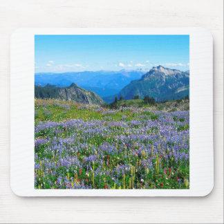 Mountain Purple Heather Haze Mouse Pad
