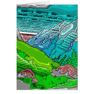 Mountain Range 5 Card