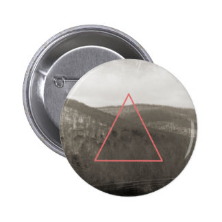 Mountain Range 6 Cm Round Badge